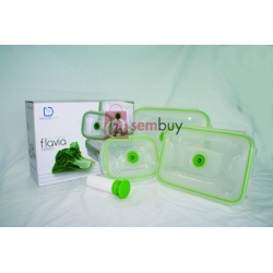 Flavia Rectangular VacuumSaver Airtight Containers Version A