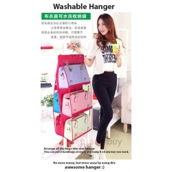 Multipurpose foldable bags hanger