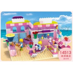 Cogo Ice Cream Shop Series 317 pieces blocks
