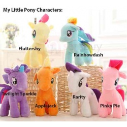 My Little Pony Plush Toys